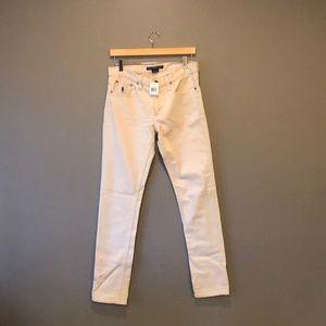 Ralph Lauren Off White Jeans